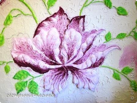 Интерьер Мастер-класс Лепка Лепка на стене №2 Бумага Гипс Краска фото 23