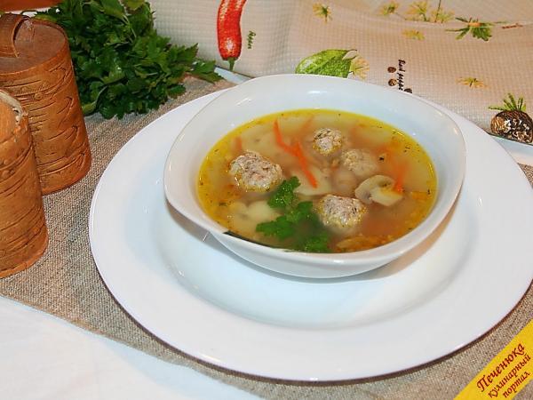 12) Вот и все секреты приготовления. Правда, ничего сложного в этом нет? И какой ароматный и насыщенный суп получится!