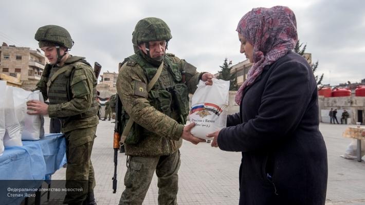Гуманитарная миссия России п…