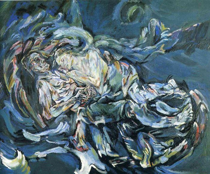Оскар Кокошка. Невеста ветра, 1913 | Фото: artchive.ru