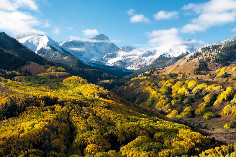 Пик Капитол, Колорадо Северная Америка, путешествие, фотография