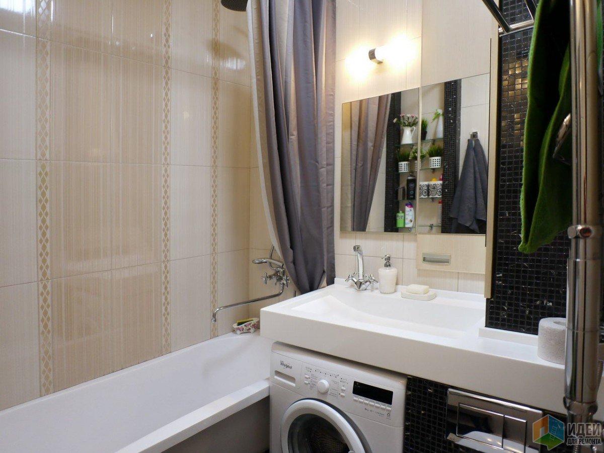 Необычные решения для обычной хрущевки: ванная