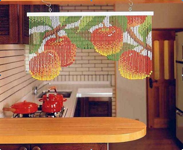 Как сделать шторы из бусин своими руками
