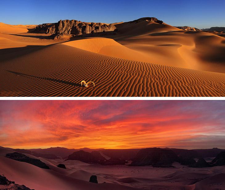 Пустыня Сахара: панорамы самой большой песочницы в мире