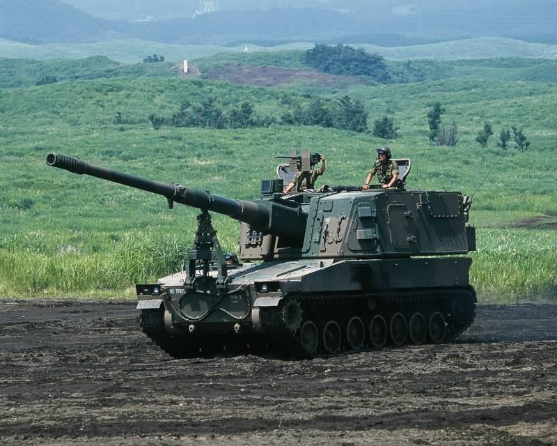 Самоходная артиллерийская установка «Тип 99» (Япония)