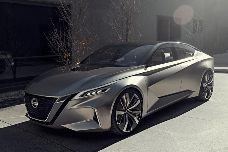 Компания Nissan представила миру концепт седана VMotion 2.0