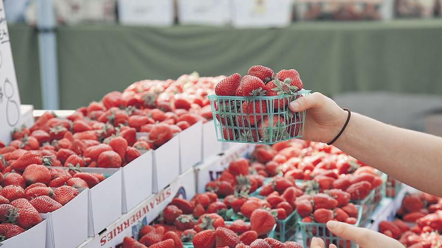 Россия вдвое нарастила закупки ягод
