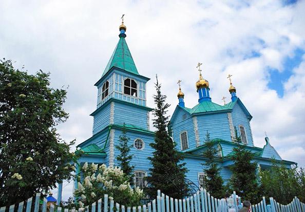 Святой источник Свято-Казанского Чимеевского мужского монастыря.