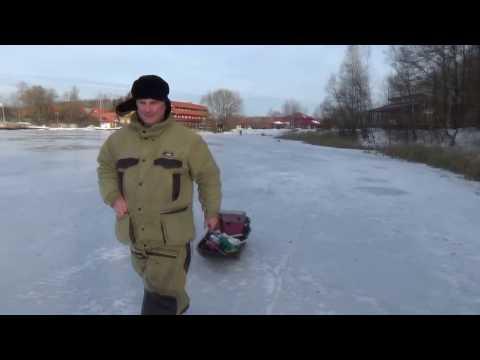 Рыбалка по первому льду.Медвежьи озера,,21ноября 2016 года.
