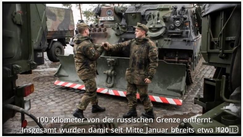 Focus: немецкие танки выдвинулись в Литву для устрашения России