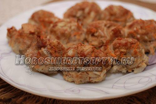 Котлеты из говядины рецепт