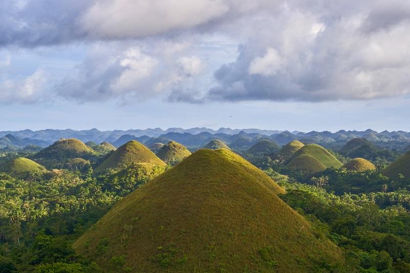 Необычная планета: Шоколадные холмы