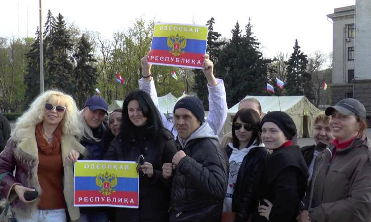 На юге Украины собираются объявить о создании Одесской народной республики