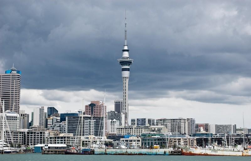 4. Sky Tower, Окленд, Новая Зеландия история, лифт, мир, необычно, путешествия, факты