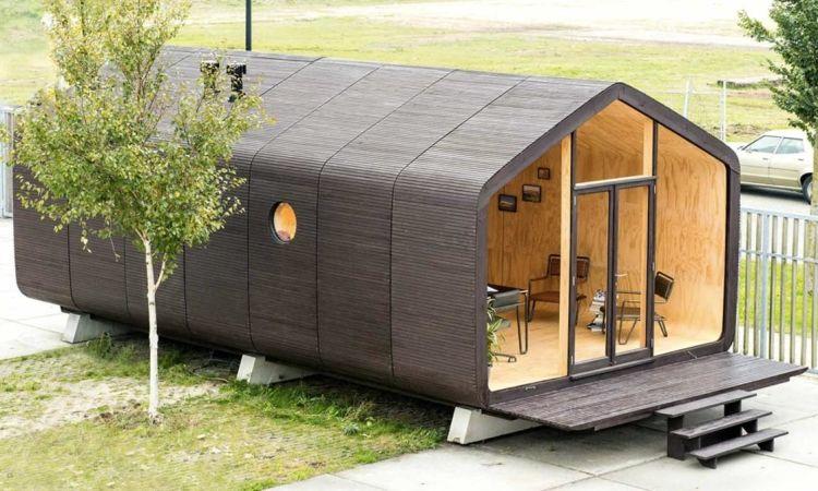 Wikkelhouse: картонный дом, который простоит не менее 100 лет