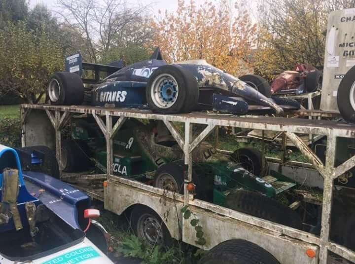 Мужские слезы: кладбище болидов Формулы-1