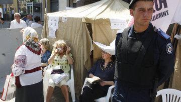 Донецк – желто-голубой цирк…