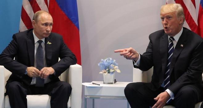 Трамп поблагодарил Путина за сокращение дипмиссии США в России