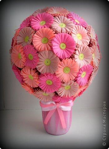 Мастер-класс Поделка изделие Квиллинг Мои цветочные шары и маленький МК запись пополняется Бумага фото 14