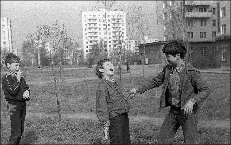 Развлечения советских детей