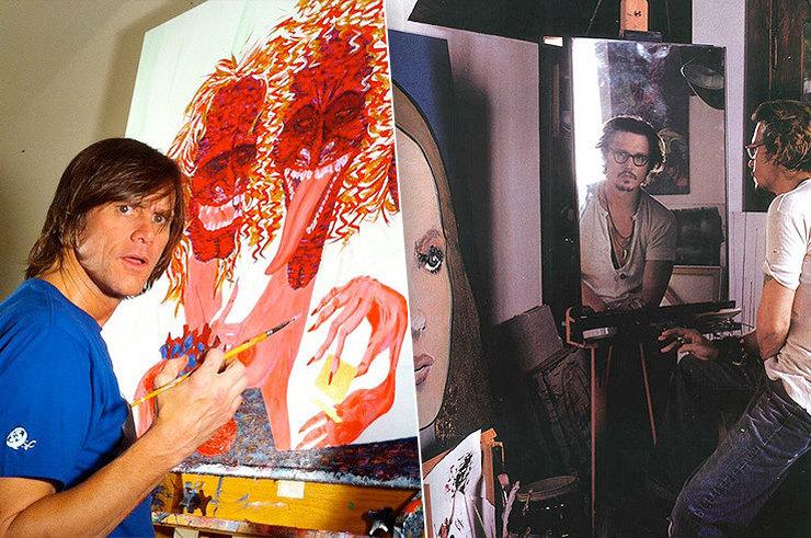 Джонни Депп, Джим Керри, принц Чарльз идругие звезды, которые потрясающе рисуют