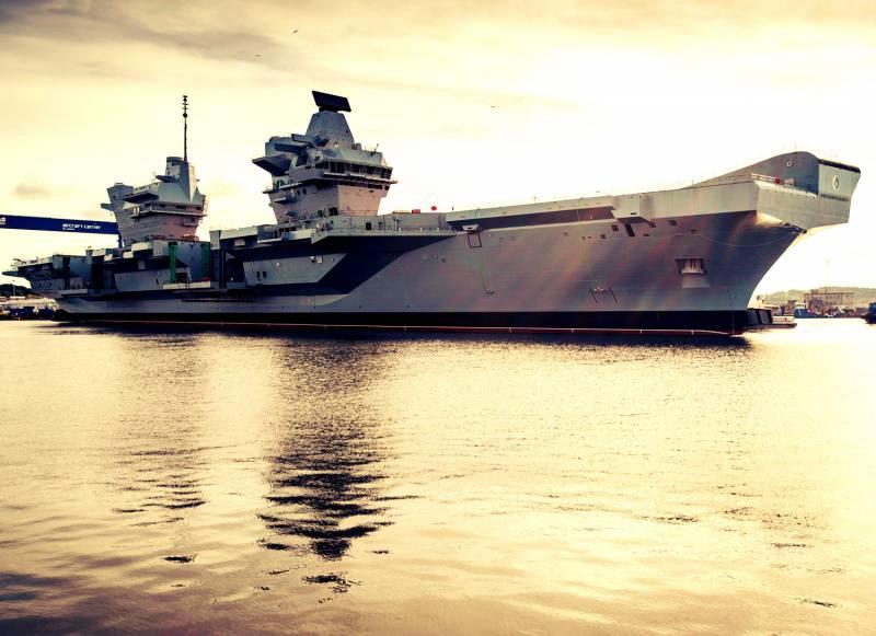 Нежданные гости в зоне контроля ТОФ России и ВМС Китая. Британская АУГ у ворот «Большой Тихоокеанской игры»