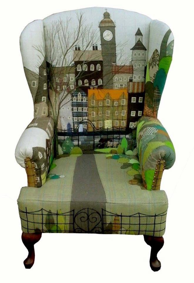 Кресло-город