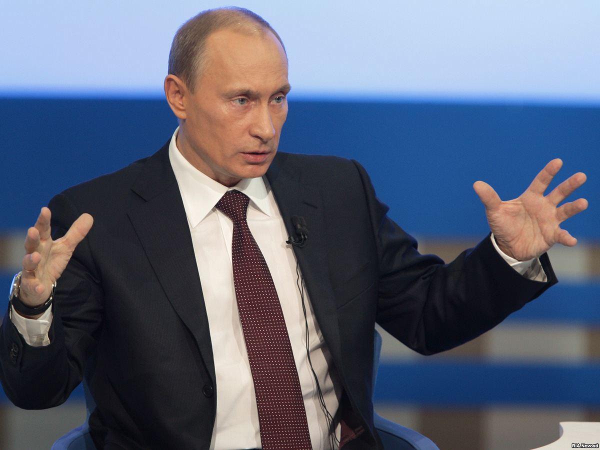 Обращение Владимира Путина к главам европейских стран, закупающих российский газ