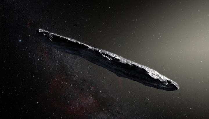Наблюдатели: межзвёздный астероид не похож ни на что в Солнечной системе