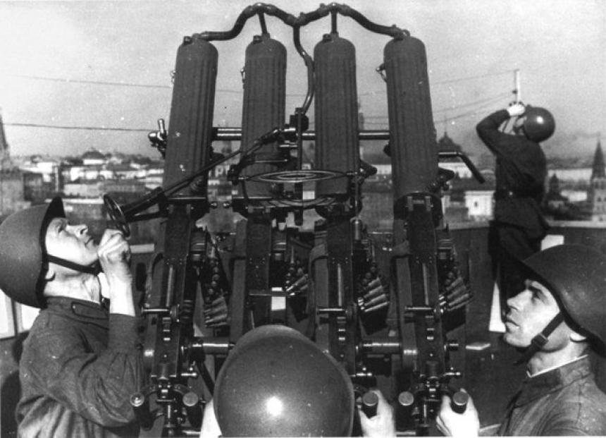 Свинцовый занавес Сталина: системы шквального огня