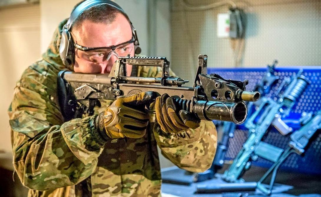 Автомат-амфибия: оружие для стрельбы под водой