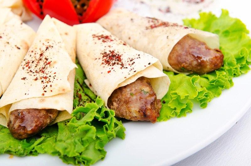 Люля кебаб с лавашем рецепт