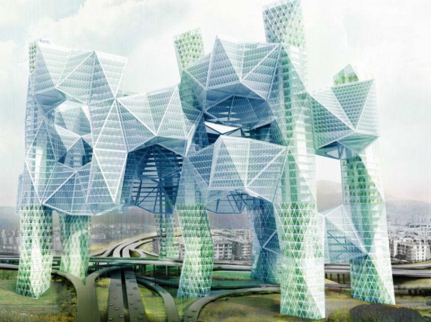 Небоскрёбы будущего - Интересно и невероятно строительство, будущего