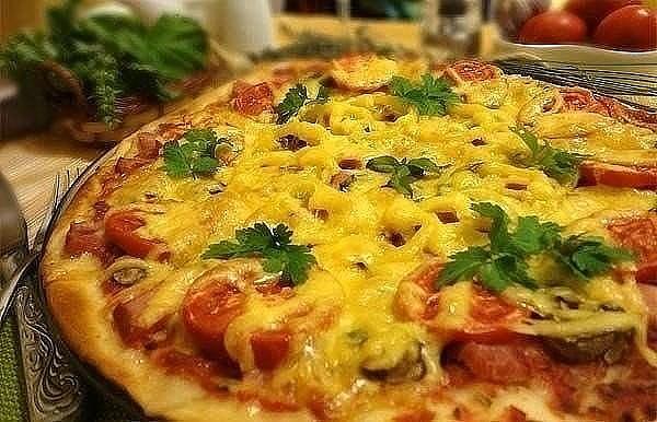 Идеальная тонкая итальянская пицца — по секрету всему свету!