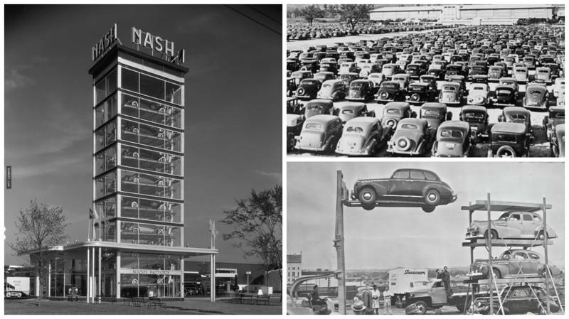 Проблема парковки в недалёком прошлом