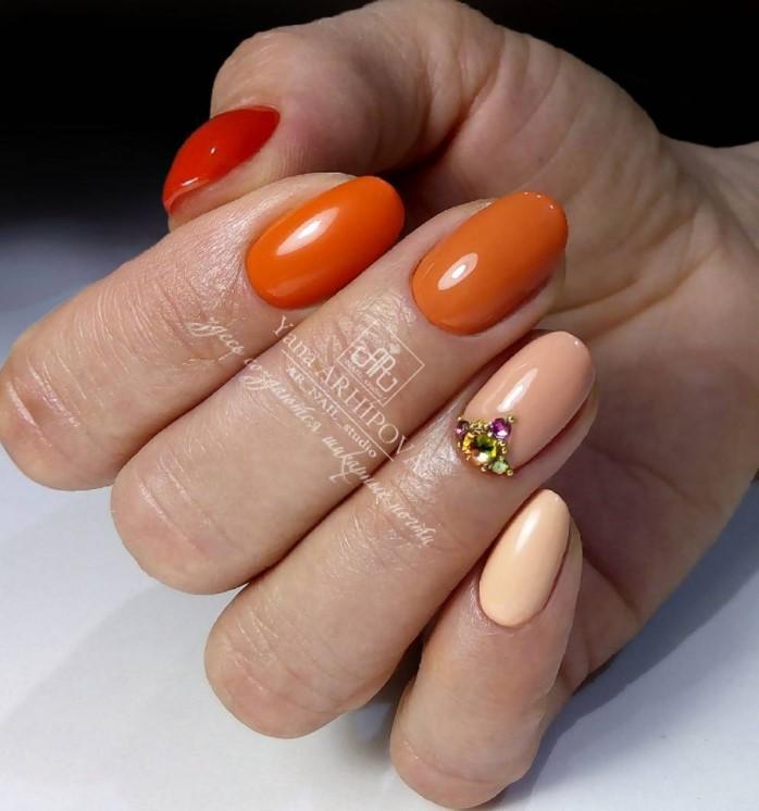 45 сногсшибательных идей маникюра на короткие ногти