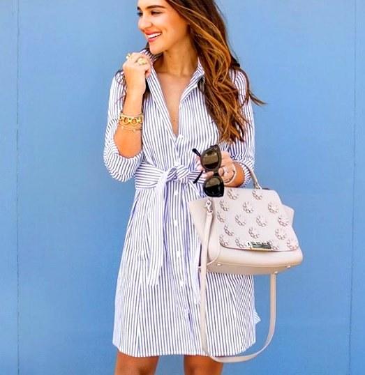 Тренд этого сезона — платья-рубашка: 15 модных идей для вашего гардероба