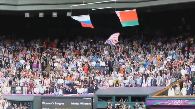 Вот ,что гимн Российский делает!