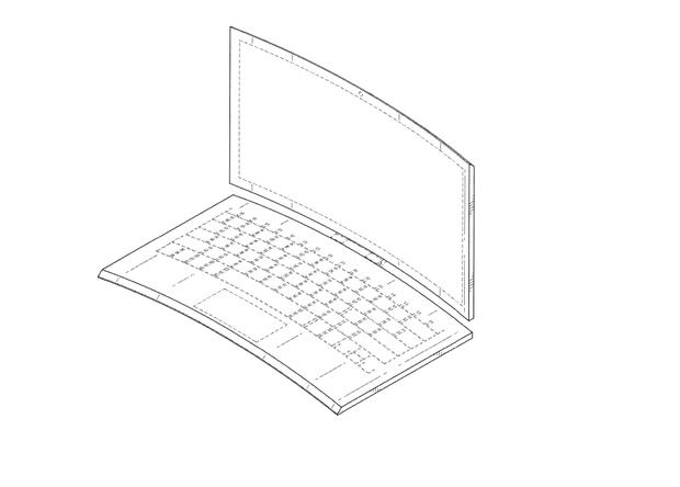 Intel запатентовала полностью изогнутый ноутбук