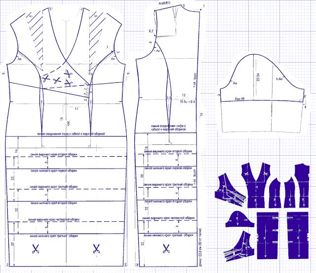 Платье своими руками с простым кроем