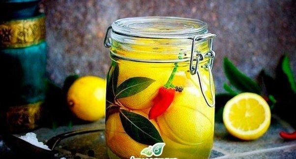 Консервированные лимоны. А Вы пробовали?