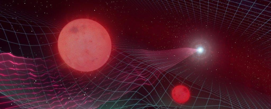 Гравитационная линза открыла невидимую звездную систем