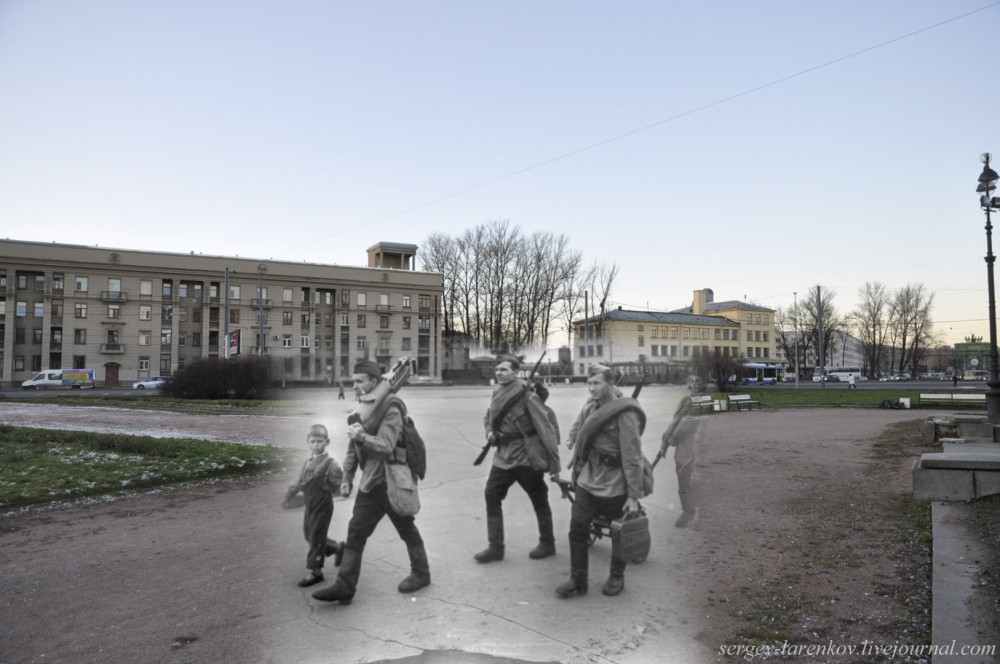 Связь времён. Ленинград 1941-45 / Санкт-Петербург 2014
