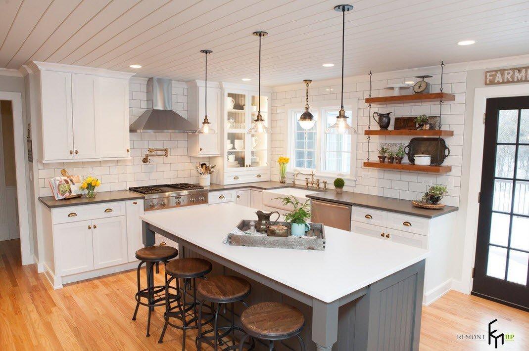 Классический интерьер кухни