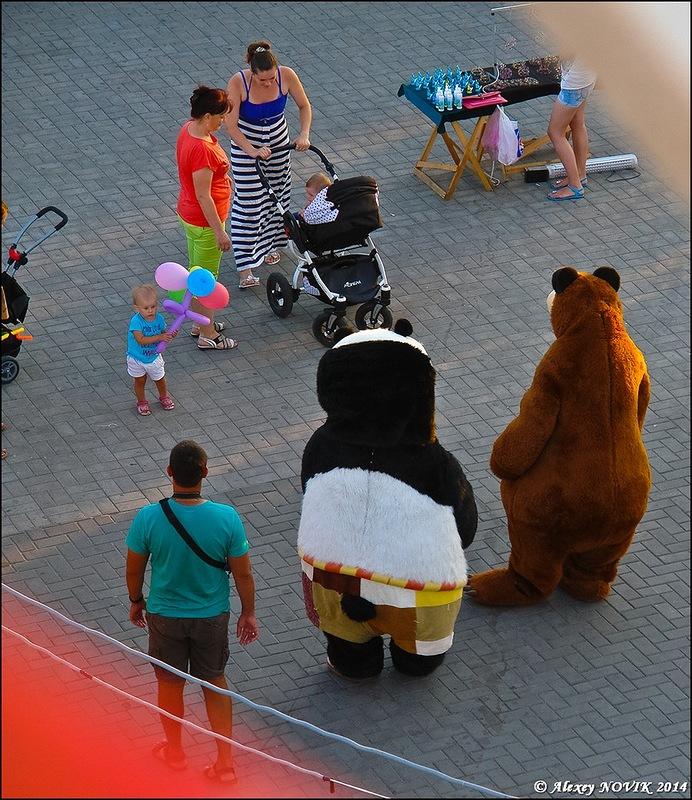 Фотопрогулки.   Бердянск. Вечер летнего дня