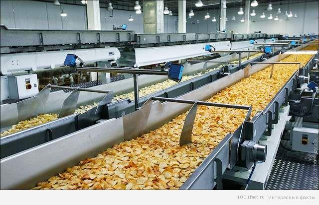 приготовление чипсов