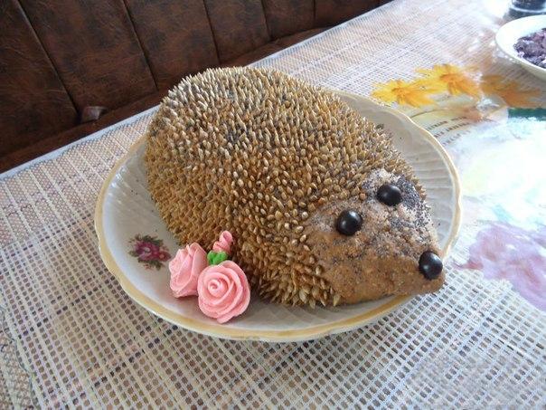Торт «Ёжик»