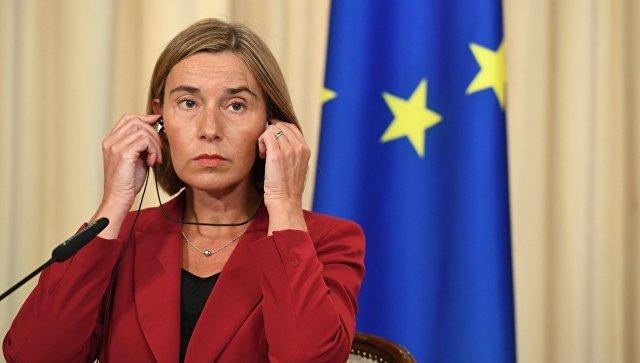 Могерини смутил вопрос репортера RT о выборах во Франции