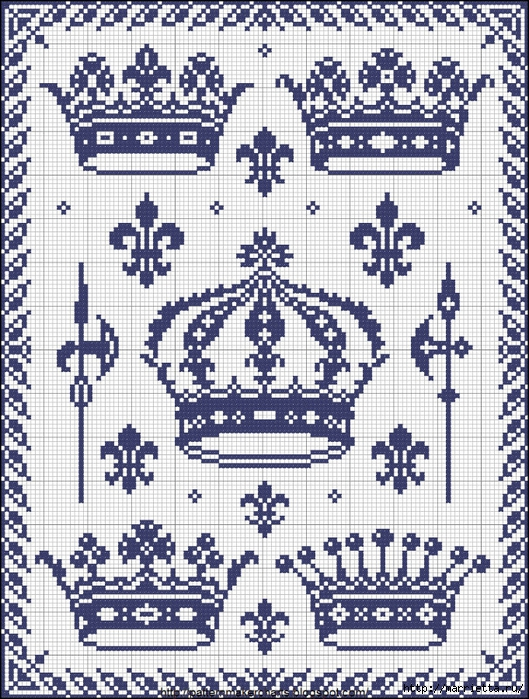 Винтажная вышивка. Схемы и идеи для вдохновения (81) (529x700, 428Kb)