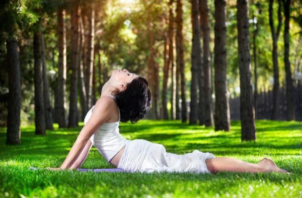 Йога помогает оздоровиться